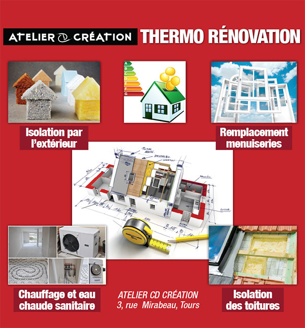 Atelier CD Creation - Themo-rénovation